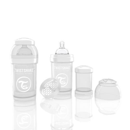 Антиколиковая бутылочка Twistshake 180 мл Белая (3)