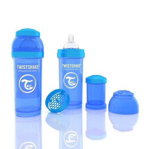 Антиколиковая бутылочка Twistshake 260 мл Синяя (4)