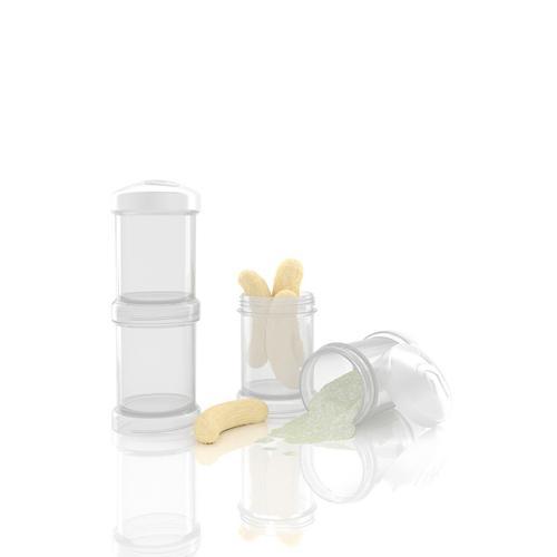 Контейнер для сухой смеси TwistShake 100 мл 2 шт/уп Белый (5)