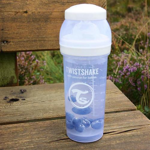 Антиколиковая бутылочка Twistshake 330 мл Белая (9)