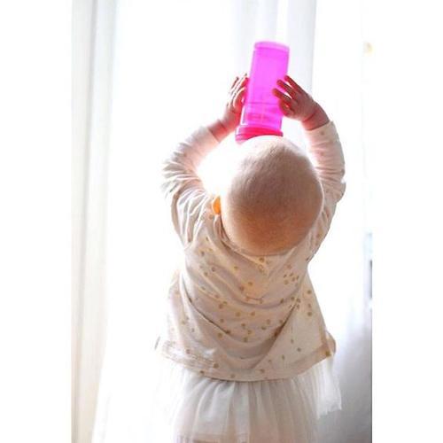 Антиколиковая бутылочка Twistshake 330 мл Розовая (6)