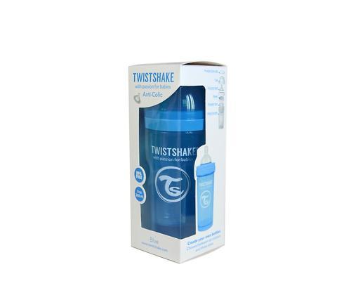 Антиколиковая бутылочка Twistshake 260 мл Синяя (5)