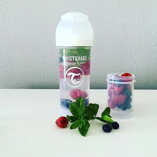 Антиколиковая бутылочка Twistshake 330 мл Белая (11)