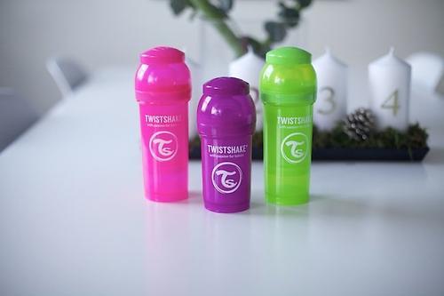 Антиколиковая бутылочка Twistshake 260 мл Зеленая (7)