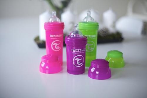 Антиколиковая бутылочка Twistshake 260 мл Зеленая (9)