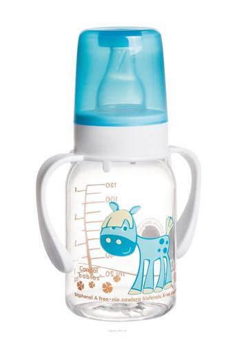 Бутылочка Canpol для кормления Ферма 120 мл 3мес+ в ассортименте (7)