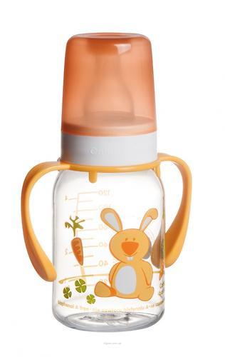 Бутылочка Canpol для кормления Ферма 120 мл 3мес+ в ассортименте (9)