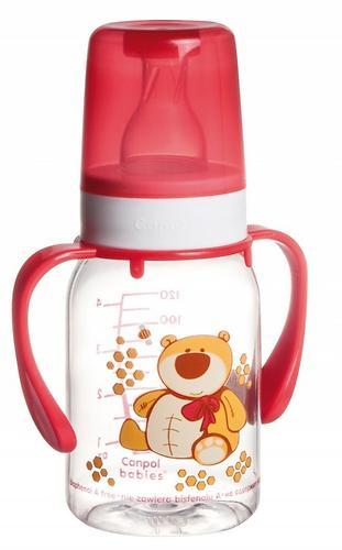 Бутылочка Canpol для кормления Ферма 120 мл 3мес+ в ассортименте (6)