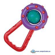 Погремушка Canpol Мячик с ручкой в ассортименте