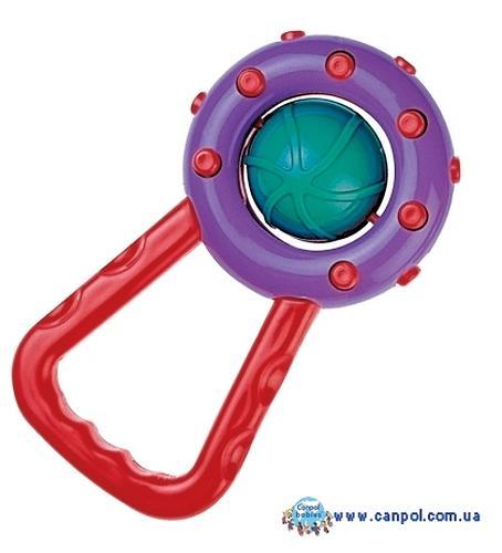 Погремушка Canpol Мячик с ручкой в ассортименте (3)