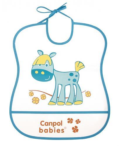 Слюнявчик Canpol пластиковый мягкий в ассортименте (7)