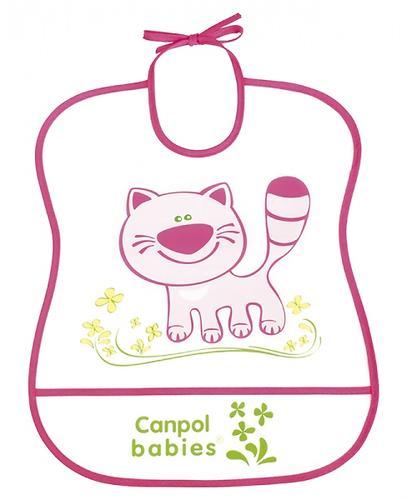 Слюнявчик Canpol пластиковый мягкий в ассортименте (8)