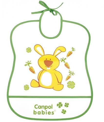 Слюнявчик Canpol пластиковый мягкий в ассортименте (6)