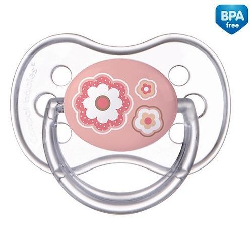Пустышка Canpol круглая силиконовая 0-6 мес Newborn baby 22/562 (5)