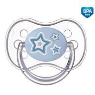 Пустышка Canpol круглая силиконовая 0-6 мес Newborn baby 22/562