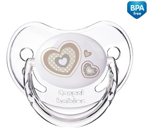 Пустышка Canpol анатомическая силиконовая 0-6 мес Newborn baby 22/565 (4)