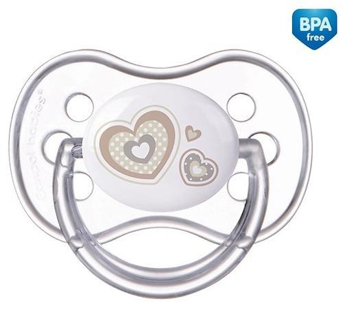 Пустышка Canpol силиконовая симметрическая 0-6 мес Newborn baby 22/580 (5)