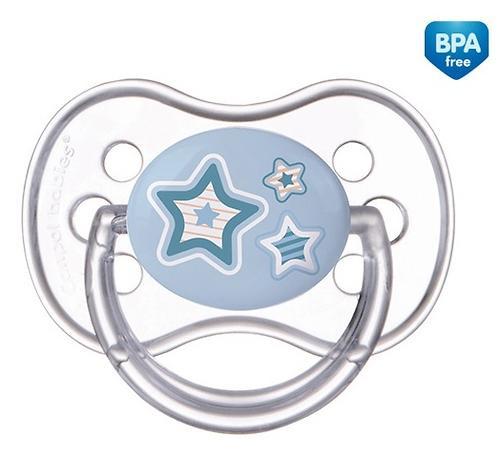 Пустышка Canpol силиконовая симметрическая 0-6 мес Newborn baby 22/580 (6)