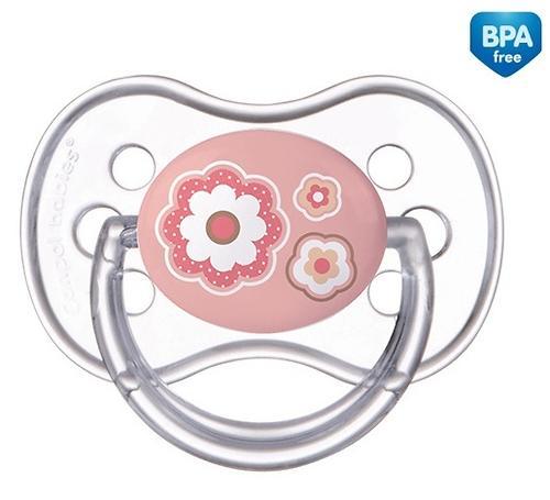 Пустышка Canpol силиконовая симметрическая 0-6 мес Newborn baby 22/580 (4)