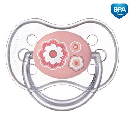 Пустышка Canpol силиконовая симметрическая 6-18 мес Newborn baby 22/581 (5)