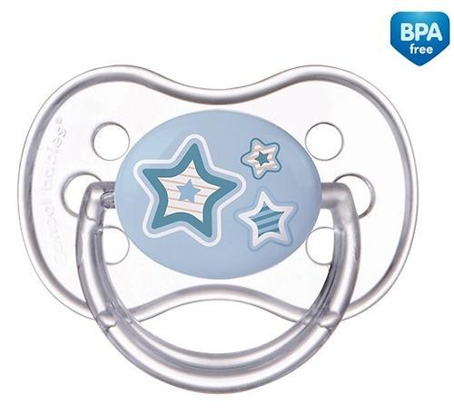 Пустышка Canpol силиконовая симметрическая 6-18 мес Newborn baby 22/581 (6)