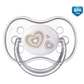 Пустышка Canpol силиконовая симметрическая 6-18 мес Newborn baby 22/581 - Minim
