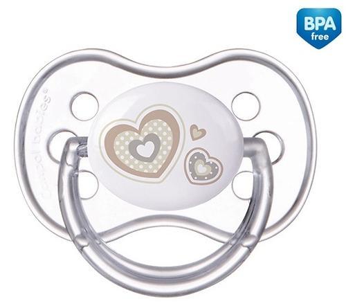 Пустышка Canpol силиконовая симметрическая 6-18 мес Newborn baby 22/581 (4)