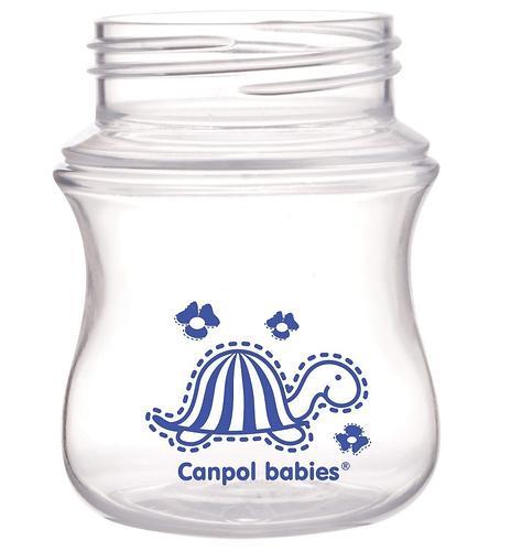 Антиколиковая бутылочка Canpol с широким горлышком EasyStart Цветные зверушки 120 мл 3м+ в ассортименте (10)