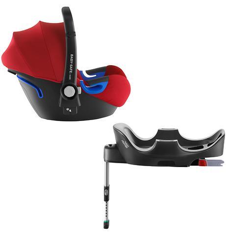 Автокресло Britax Baby-Safe i-Size + база Flex Flame Red (3)