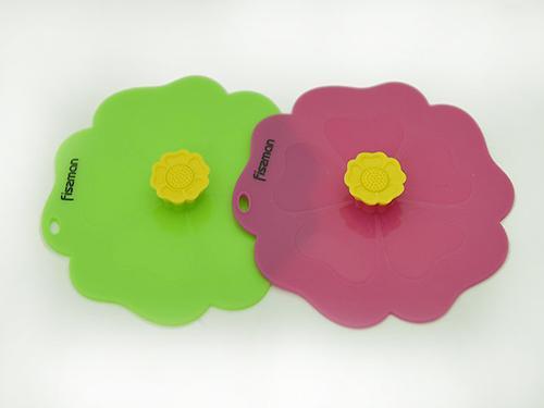 Крышка 11,5 см в форме орхидеи (силикон) Fissman 7644 (1)