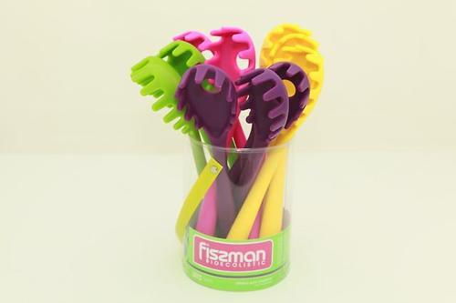 Силиконовая ложка для спагетти Fissman IRIS 4 цвета в ассортименте 1320 (3)