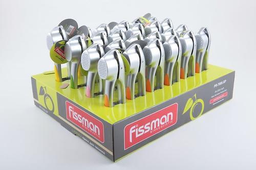 Пресс для чеснока LUMINICA (в промо-коробке) (цинковый сплав) Fissman 7005 (1)
