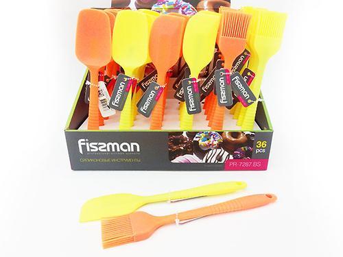 Силиконовые инструменты для выпечки в ассортименте - кисточка, лопатка, ложка Fissman 7287 (1)