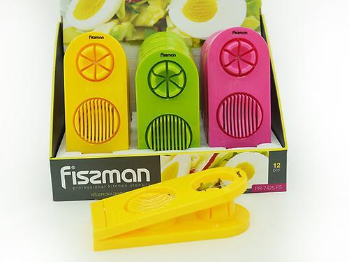 Яйцерезка двухпозиционная (пластик) Fissman 7425 (1)