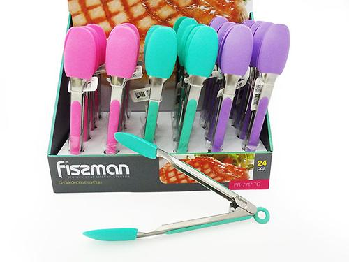 Силиконовые щипцы Fissman 7717 (1)