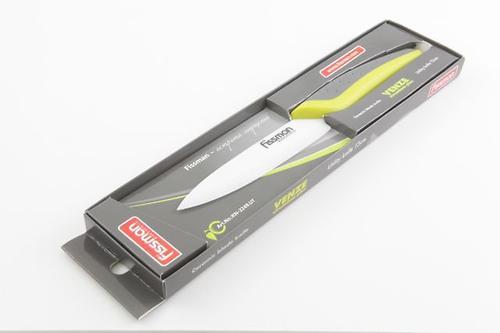 Нож для овощей Fissman VENZE zirconium plus 13 см (белое керамическое лезвие) 2249 (1)