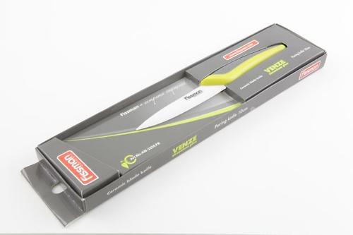 Разделочный нож Fissman VENZE zirconium plus 10 см (белое керамическое лезвие) 2250 (1)