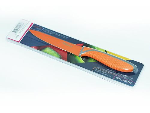 Универсальный нож JUICY 13 см (нерж. сталь с цветным покрытием) Fissman 2289 (1)