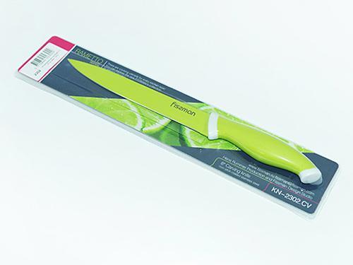Гастрономический нож RAMETTO 20 см (нерж. сталь с цветным покрытием) Fissman 2302 (1)