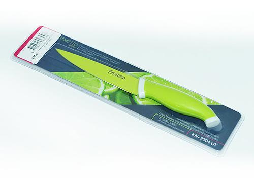 Универсальный нож Fissman RAMETTO 13 см (нерж. сталь с цветным покрытием) 2304 (1)