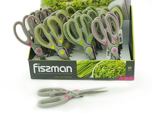 Ножницы бытовые 20 см кухонные (нерж. сталь) Fissman 7655 (1)