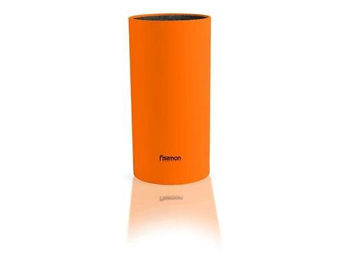 Универсальная подставка для кухонных ножей и ножниц Fissman Оранжевая (пластик) 2941 (3)