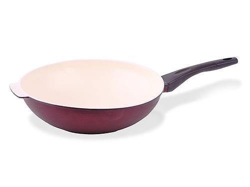Cковорода OLYMPIC 32х8 см глубокая (алюминий с антипригарным покрытием) Fissman 4536 (1)