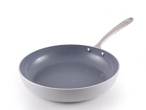Сковорода для жарки CRYSTAL 26x5,4 см с индукционным дном (алюминий с керамическим антипригарным покрытием) Fissman 4549 (1)
