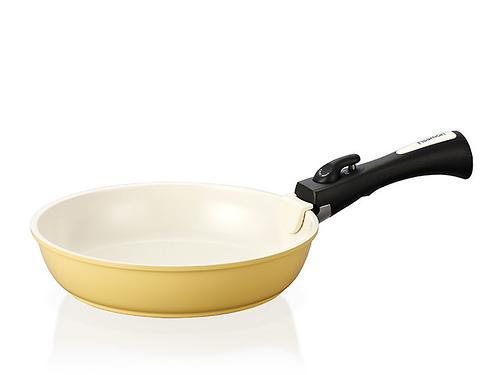 Cковорода для жарки CLICK 26 см со съемной ручкой (алюминий с керамическим антипригарным покрытием) Fissman 4631 (1)