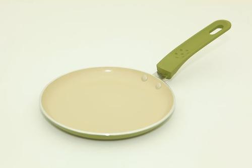 Сковорода для блинов Fissman VELOCE оливкового цвета (алюм. с керам. антипригарным покрытием) 4715 (1)