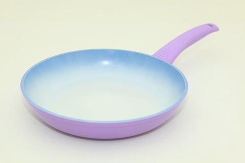 Сковорода для жарки PRIMA 24 см с индукционным дном (алюминий с меняющим цвет керамическим покрытием) Fissman 4726 (1)
