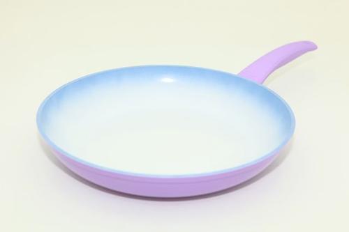 Сковорода для жарки PRIMA 28 см с индукционным дном (алюминий с меняющим цвет керамическим покрытием) Fissman 4727 (1)