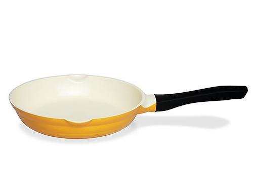 Сковорода для жарки LAZURITE 24 см (алюминий с керамическим антипригарным покрытием) Fissman 4741 (1)