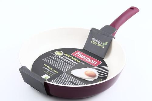 Сковорода для жарки Fissman AMPHORA 26x5,6 см с индукционным дном (алюм. с керам. антипригарным покрытием) 4783 (1)